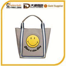 Printed canvas hot sale shopping bag