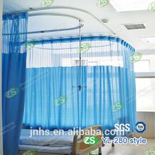 Polyester Fabric Drape Flame Retardant Hospital Curtains