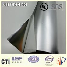 For electric wire! PE/PET faced aluminum composite cladding Glassine release paper Natural Plain Aluminum Foil Cladding