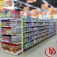 auchan supermarket promotion used stainless steel shelving digital shelf label