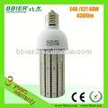 bbier sıcak satış fabrika fiyat alüminyum e40 E27 mısır koçanı led ampul 40w