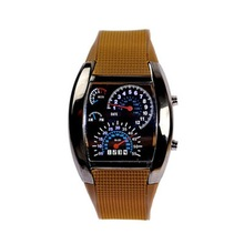 analog digital wrist watch men vogue