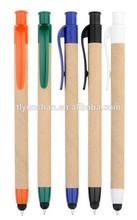 Recycled Paper Pen Stylus Pen Ball Pen
