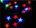 natal luz conduzida da estrela para decoração ao ar livre