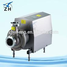 High quality food grade belt driven centrifugal water pump