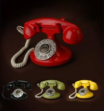 high quality home decorative retro telephones for promotion gifts