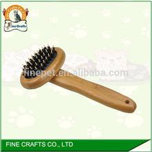Bamboo Dog Bath Brush