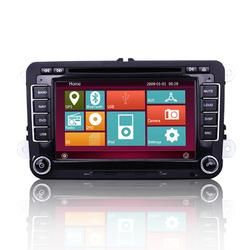 2 Din 7 Inch HD Touchscreen Car DVD Player/GPS Natigation/Radio for VW car