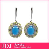 New Design Hot Sale Handmade Artificial Jewellery Cheap Wedding Brooch Earring Set