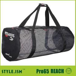 Top recycled foldable travel bag mesh bag swim dive bag