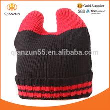 knitting pattern hat beanie,knitte ear beanie hat,children hat with animal designs knit