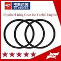 motor diesel de peças de reposição e montagem do volante com anel de engrenagem para motor yuchai peças