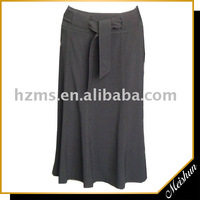 Professional manufacturer Ladies Casual extra long skirt