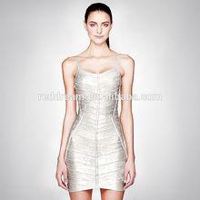 Factory supply beautiful mature women bandage dress , wholesale latest fashion evening turkey bandage dress