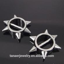 wholesale Surgical Steel nipple rings shields