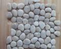 naturelles décoration de jardin en pierre de galets carrelage en marbre de polissage bon marché
