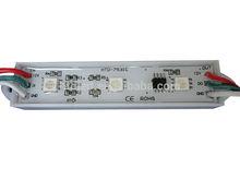 ip66 waterproof SMD led backlight 5050 led Epistar chip, aluminum shell led module waterproof 3leds