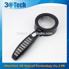 DH-81004 plastic promotional magnifier glass custom design magnifier glass lens