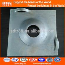 alloy steel Q345 Black domed steel washer 200x200x14mm
