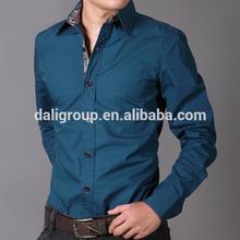 Oemสีบริสุทธิ์ที่กำหนดเองที่มีคุณภาพสูงลำลองผ้าฝ้าย100%เสื้อ