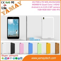 hot new products for 2015 4G FDD-LTE tablet pc price china wcdma gsm 3g 7inch telefonos celulares download free mobile games