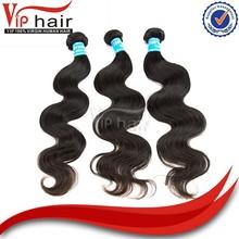 Brazilian virgin hair/human hair extensions wholesale 16 inch body wave