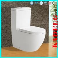 Grade A quality new design low-flow porcelain one piece toilet