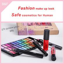 New arrival eyeshadow cosmetic set nail cosmetic pencil sets powder coating raw materials