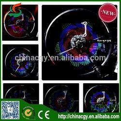 top selling best price programmable wheel led monkey light bike