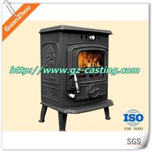 multi fuel cast iron wood burning fireplace