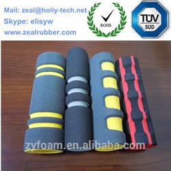 Sponge rubber tube/red natural rubber inner sponge tubes/swimming sponge tube