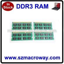 Original chips 2gb ddr 1333 laptop memory