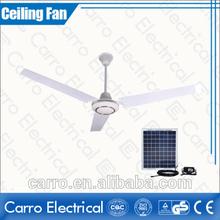 Energy-saving 12V 56'' Brushless motor Solar DC ceiling fan with high rpm
