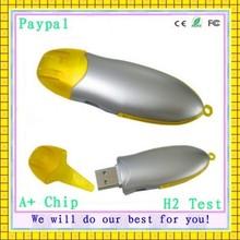customized cheapest full capacity plastic bulk 128mb usb flash drives