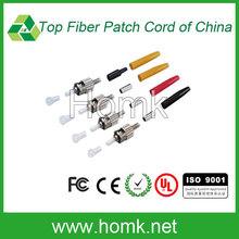 ST fiber connector kits factory supply 0.9mm fiber connector kits