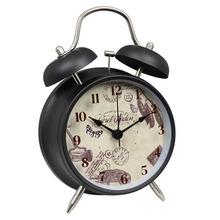 """4"""" bell alarm clock vintage style letter stamp postmark"""