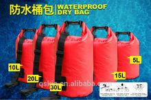 2015 new arrival 500D PVC tarpaulin diving waterproof dry backpack