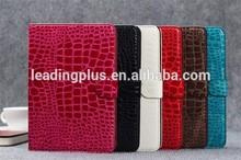 Crocodile style for iPad Mini 2 Leather Case,wholesale for ipad cases