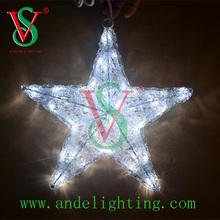 christmas tree decoration Holiday motif light 3D star motif LED lighting