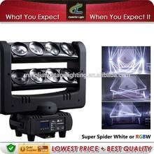 Multi-beam Effect 8x10w RGBW or white LED Beam Moving Head Light