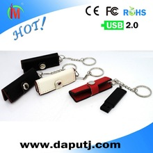 High Quality Leather Case USB Flash Drive Memory Disk