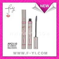 Young girl design aluminium cosmetic mascara tube