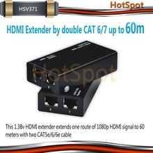 HSV371 Cheaper 3D CAT5e/6 x1 up to 60M HDMI Extender