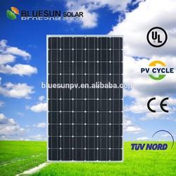 High quality bluesun 2015 top sale 250w solar pv module