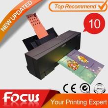 Digital metallic foil printer