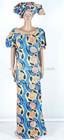 African brocade caftan dress/attire