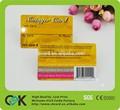 cr 80 pvc tarjeta de láser para la promoción de negocios