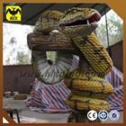 Life size movie silicone animatronic snake