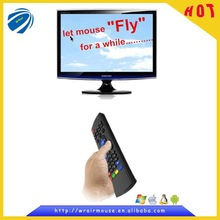 Hot style air fly mouse wireless connection to smart tv