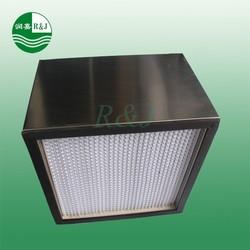 Industry deep-pleat hepa air filter